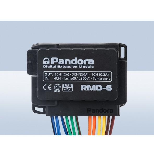 Релейный модуль автозапуска Pandora RMD-6