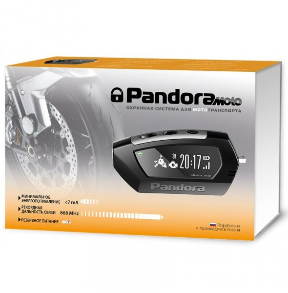 Мотосигнализация Pandora Moto DX-42 UA