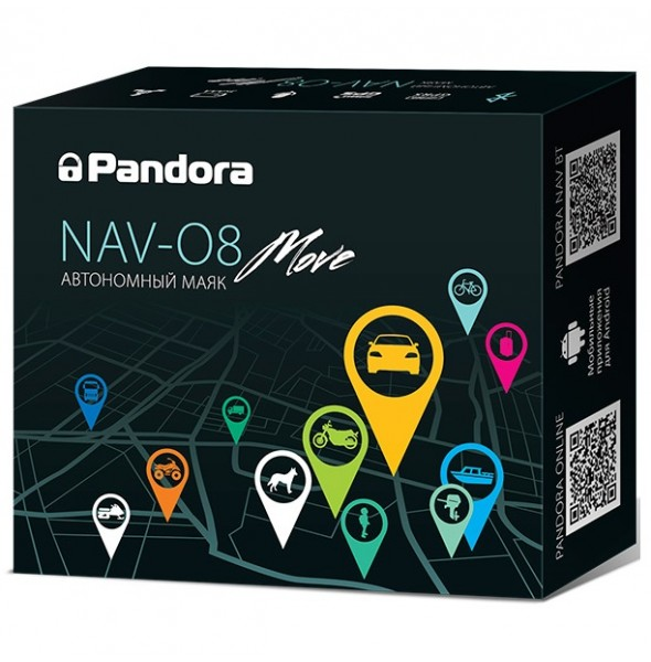 Автономный маяк Pandora NAV-08 Move